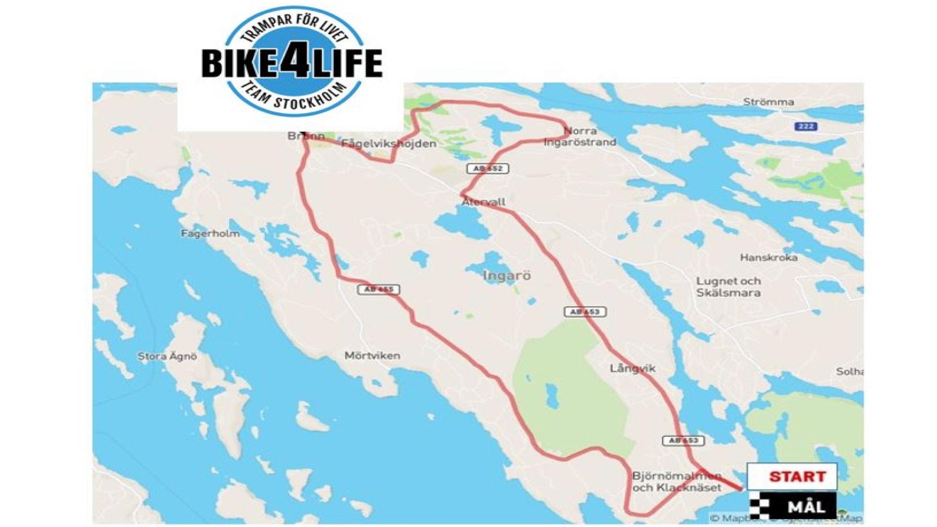 Ingarö Cykelloop av Bike4life