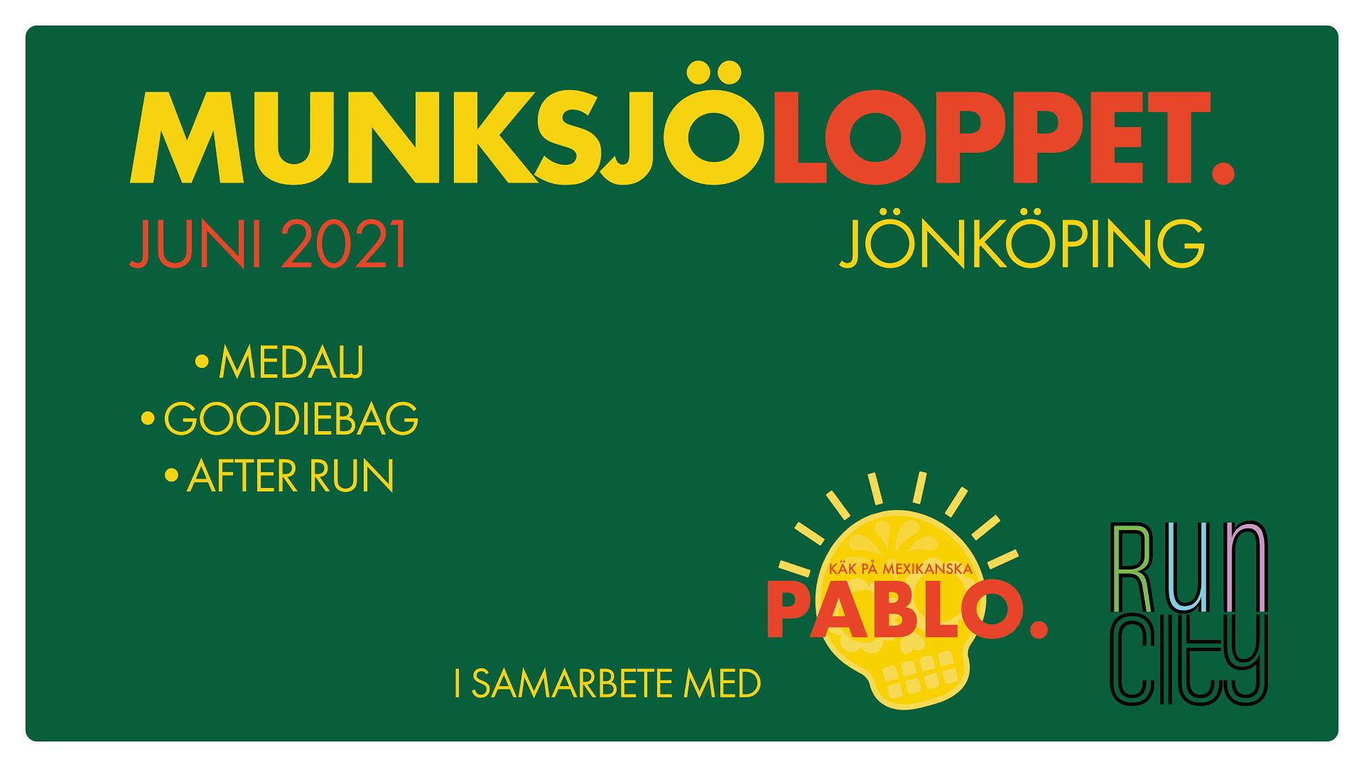 Munksjöloppet - Jönköping - Fast bana