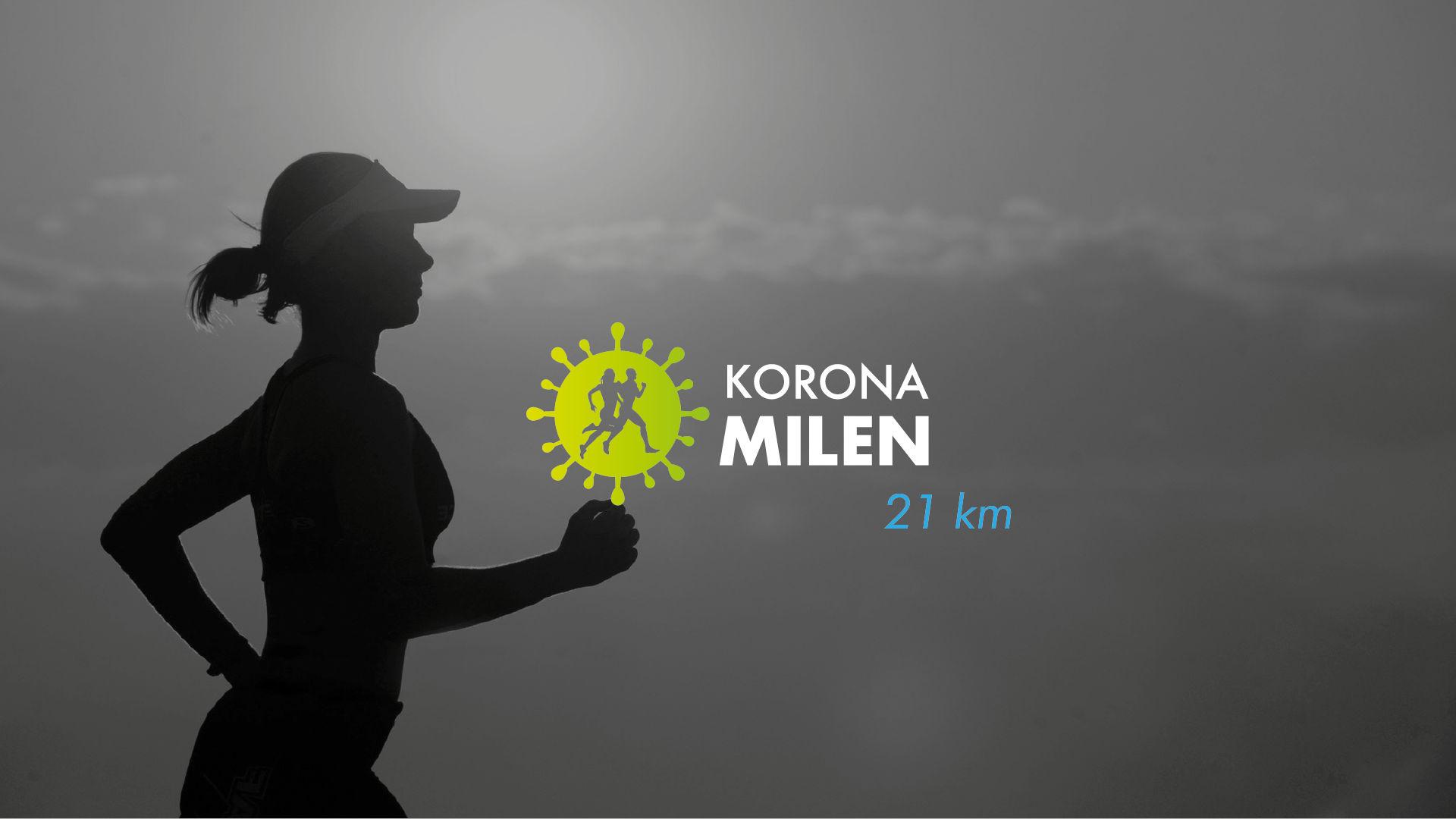 Koronamilen 21km