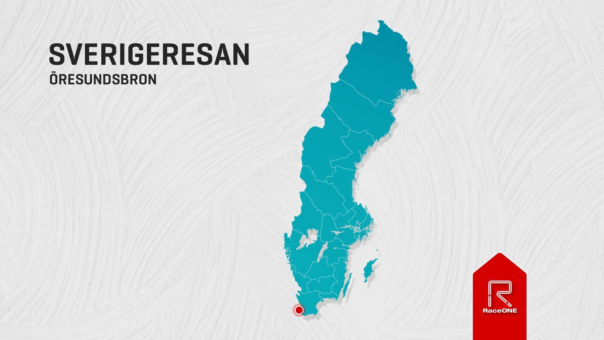 Nr 1 - Öresundsbron Sverigeresan