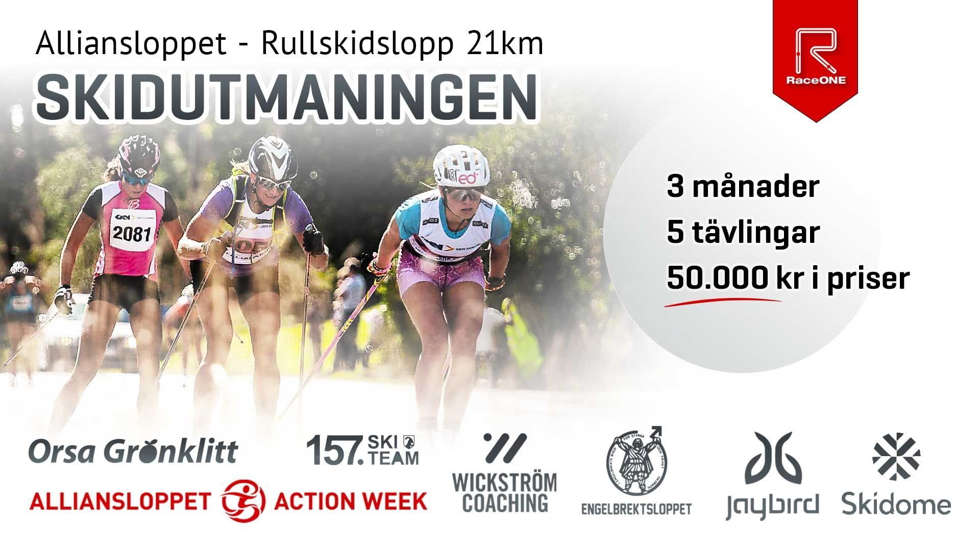 Alliansloppet Rullskidslopp 21 km