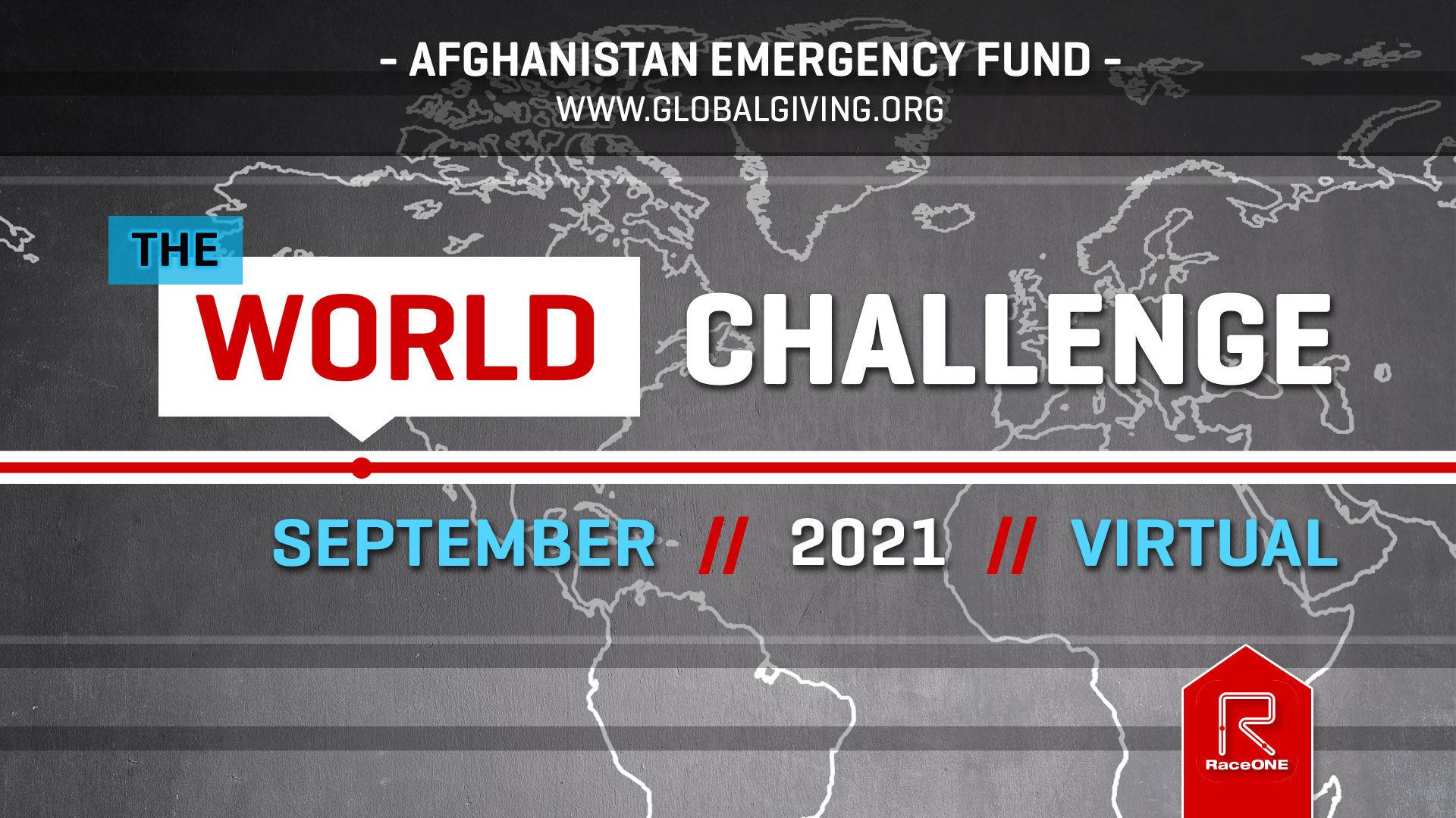 World Virtual Challenge 5k Sept 2021