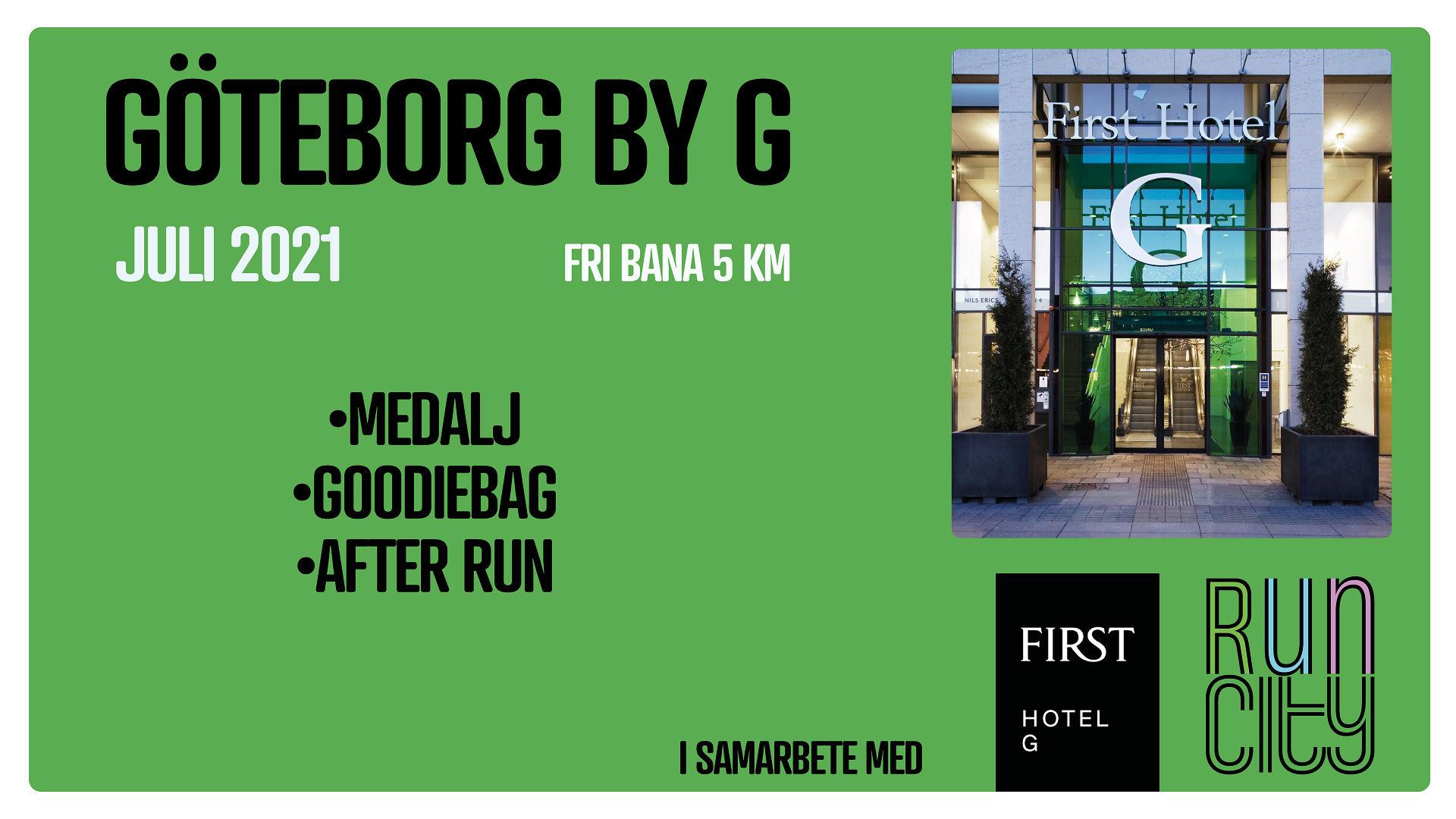 Göteborg by G - Juli - 5 km