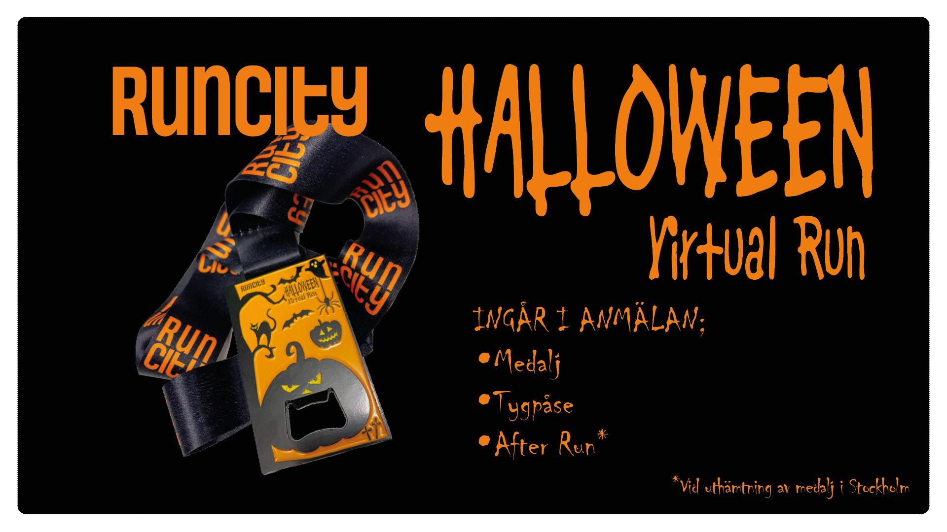 Runcity Halloween - Virtual Run